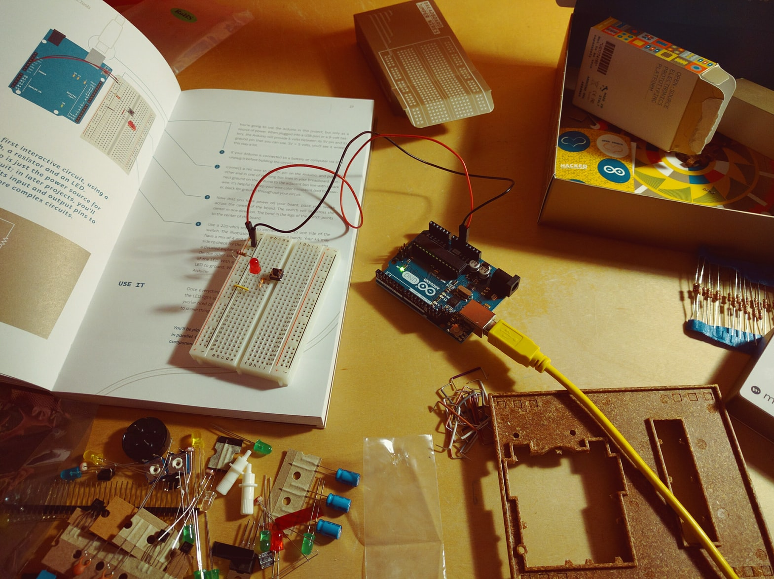 Arduino Education Kit Engineer Experiences Led Tachometer Circuit Educaiton For Beginners
