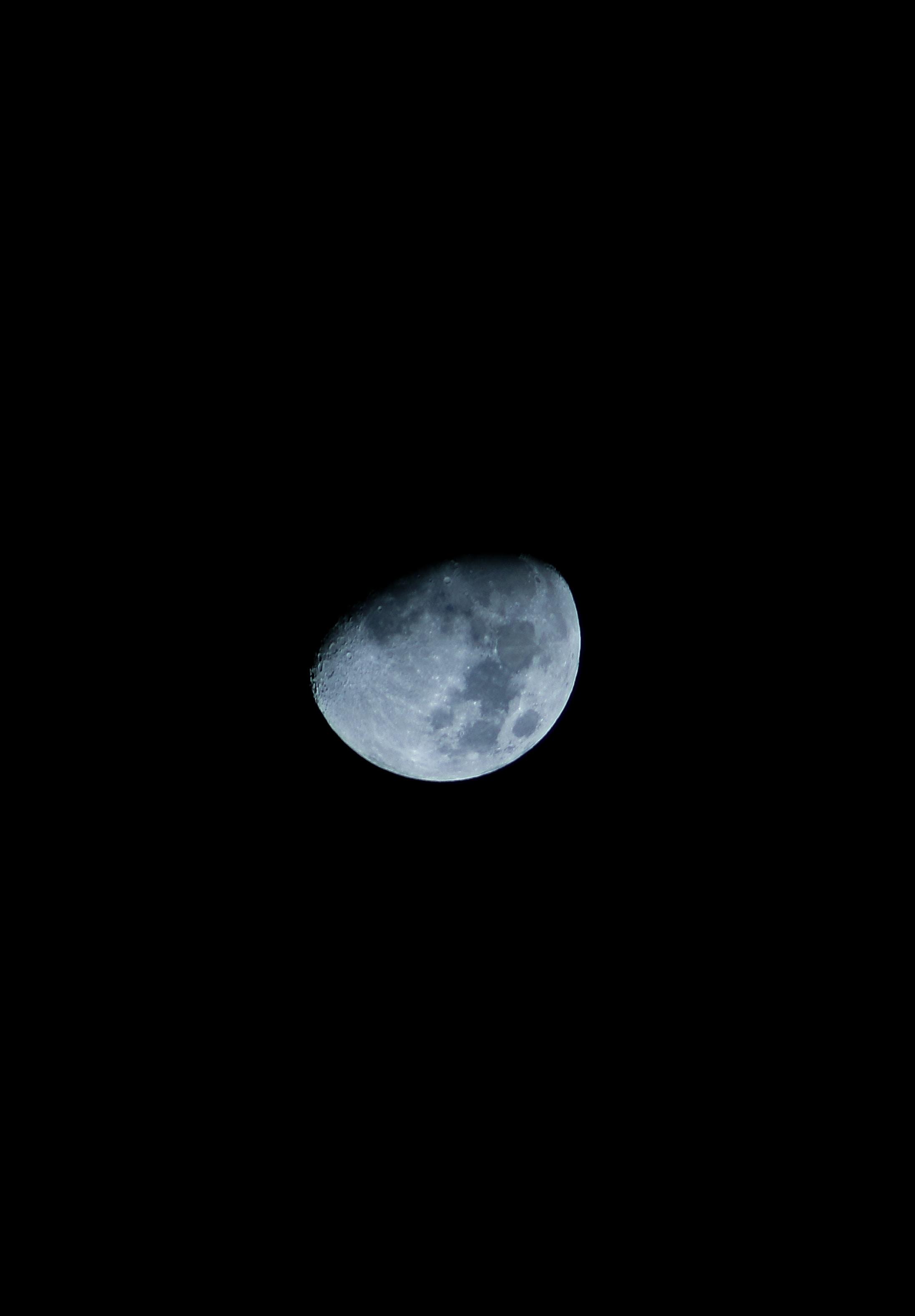 moon on night sky