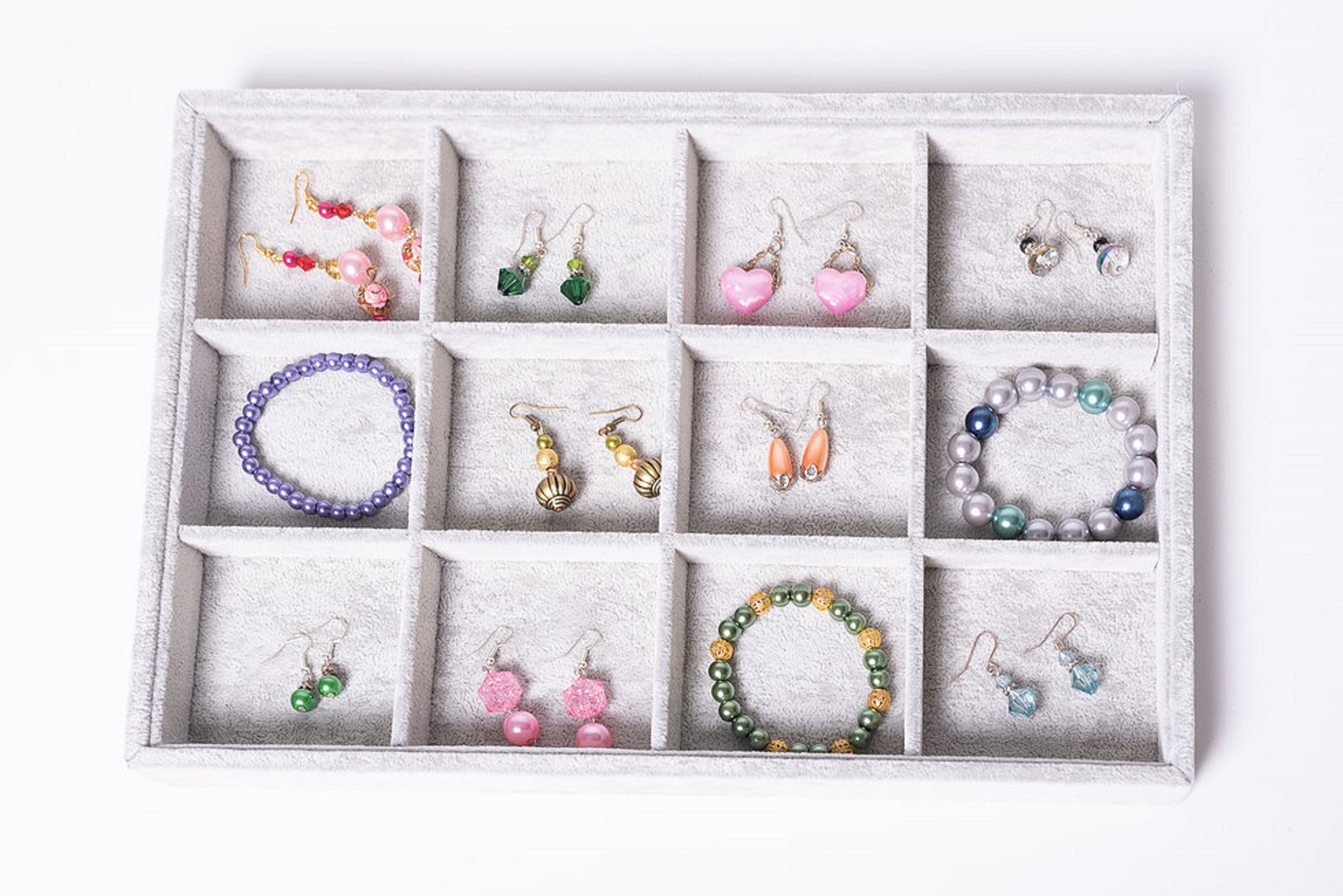 jewelries collection in box