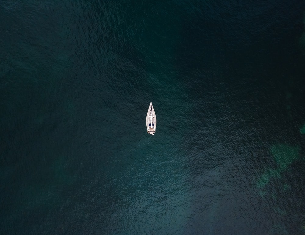 boat on body of water during day
