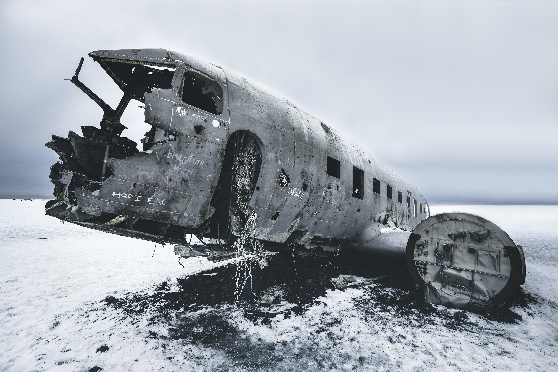 Beschreibung des Fotografen: Trek to see the abandoned DC plane on Sólheimasandur during a road-trip around Iceland.