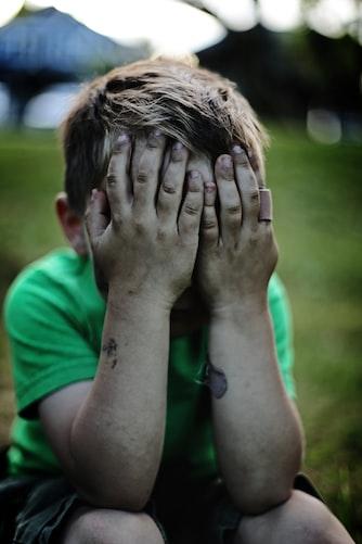 Un enfant qui pleure. | Photo : Unsplash