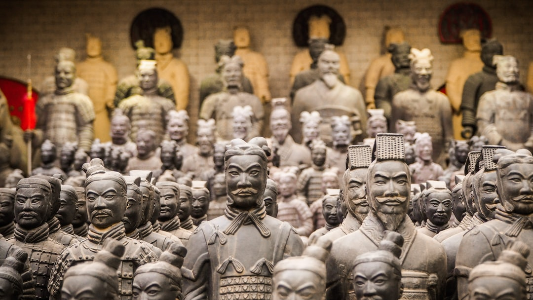 The Terracotta Army is a collection of terracotta sculptures depicting the armies of Qin Shi Huang, the first Emperor of China