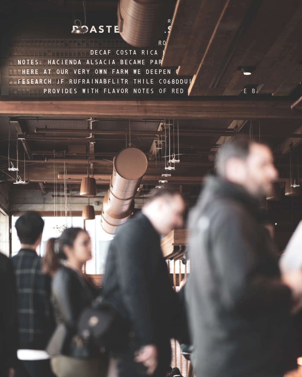 people inside coffee shop