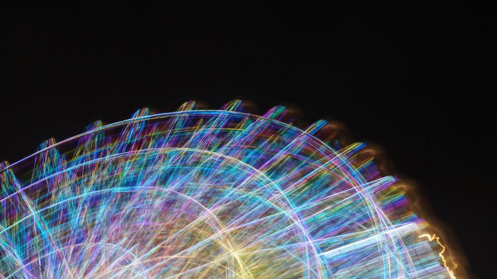 LED light ferris wheel