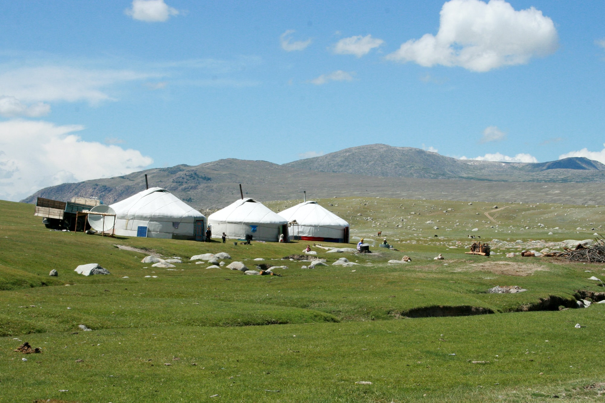 Yurt village Mongolia