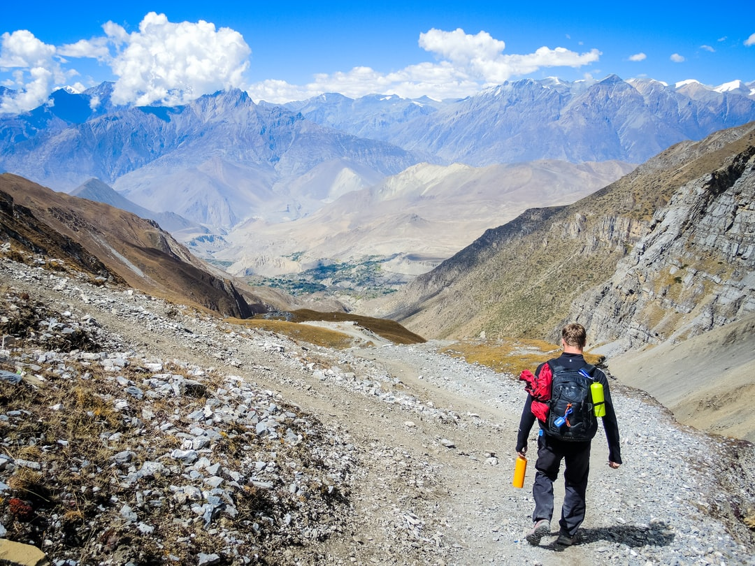 Having completed the Thorung La pass it was all downhill to Muktinath, Nepal