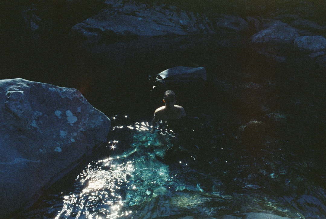 A short and slightly treacherous hike down to The Chasm – the water was clear but cold. Shot on Cinestill 800Tungsten HighSpeed Color Film