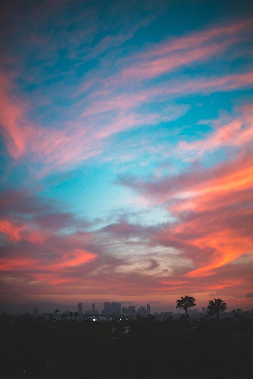 landscape photo of cumulus clouds