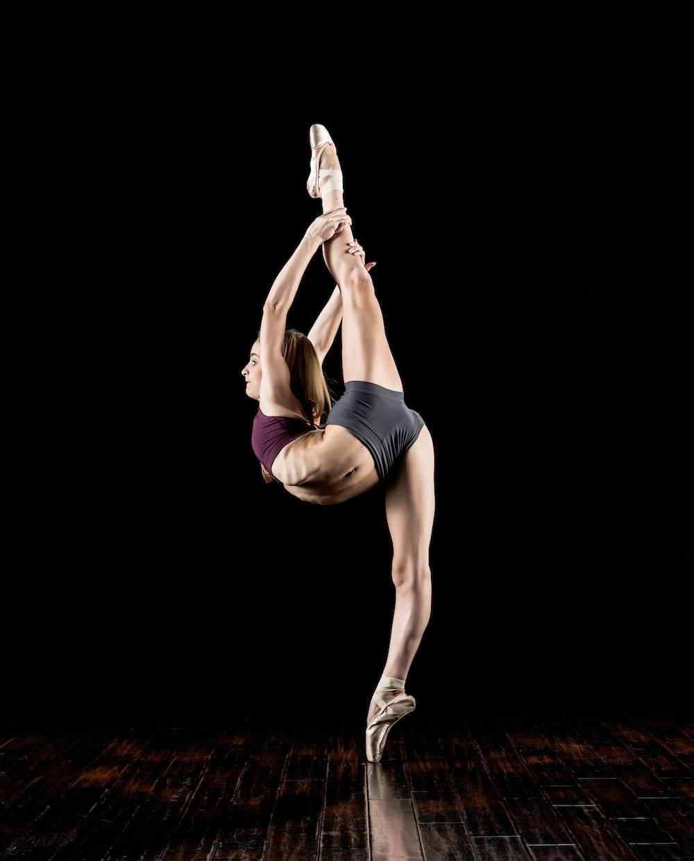 girl doing Ballerina