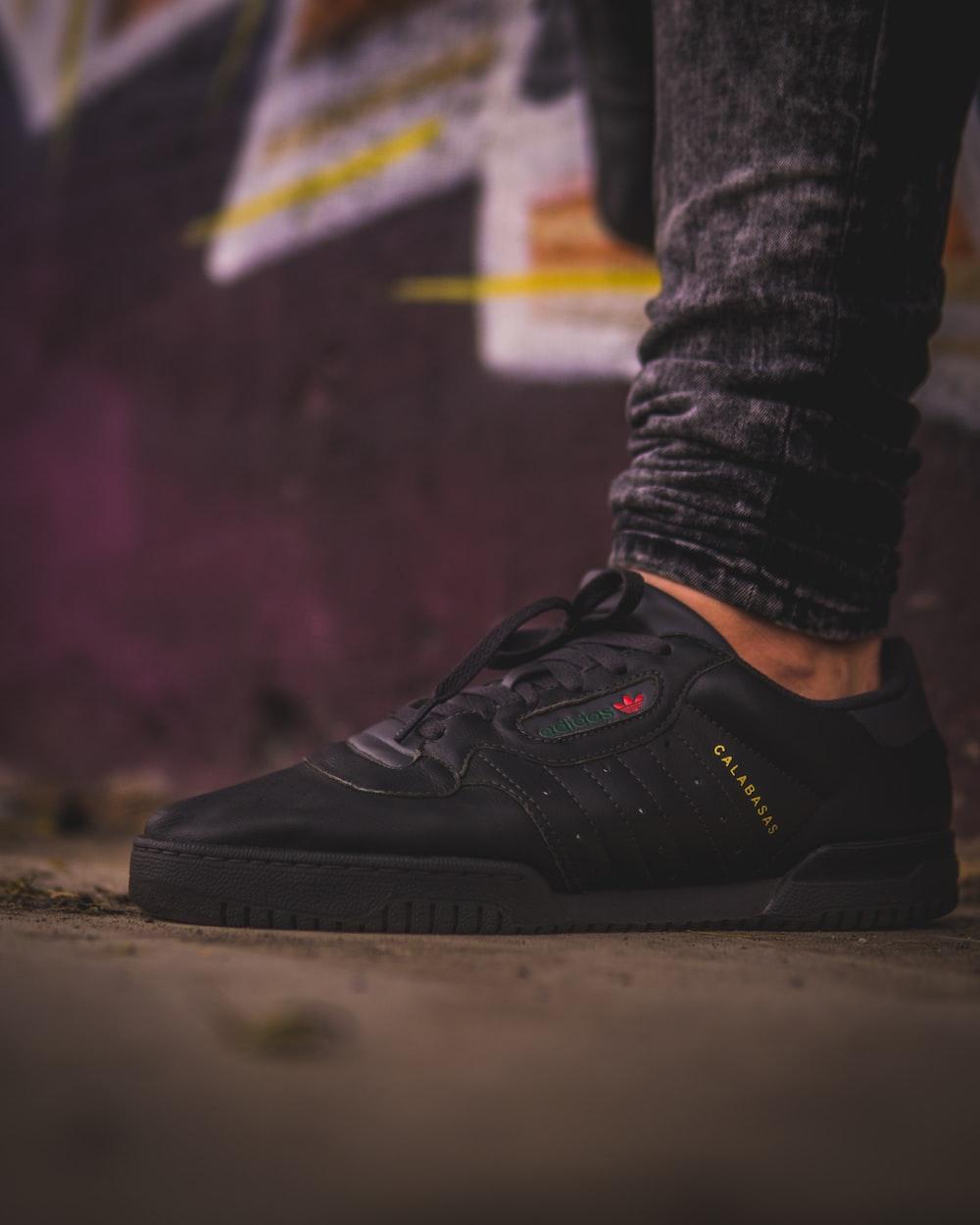 black adidas Calabasas shoe