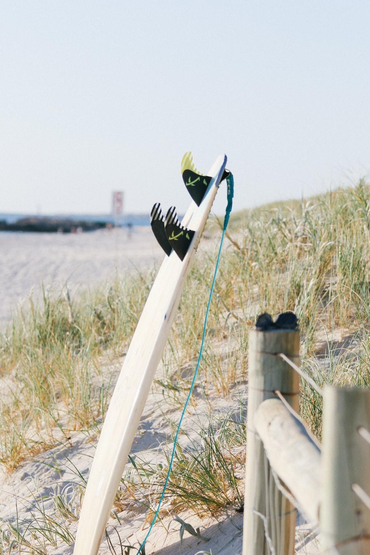 surfboard near post