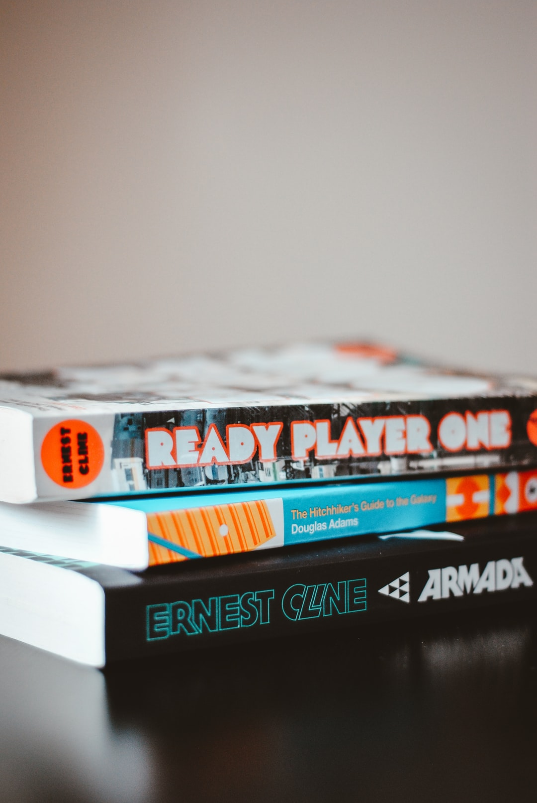As a nerd and a gamer, my place is full to the rafters with nerdy literature.