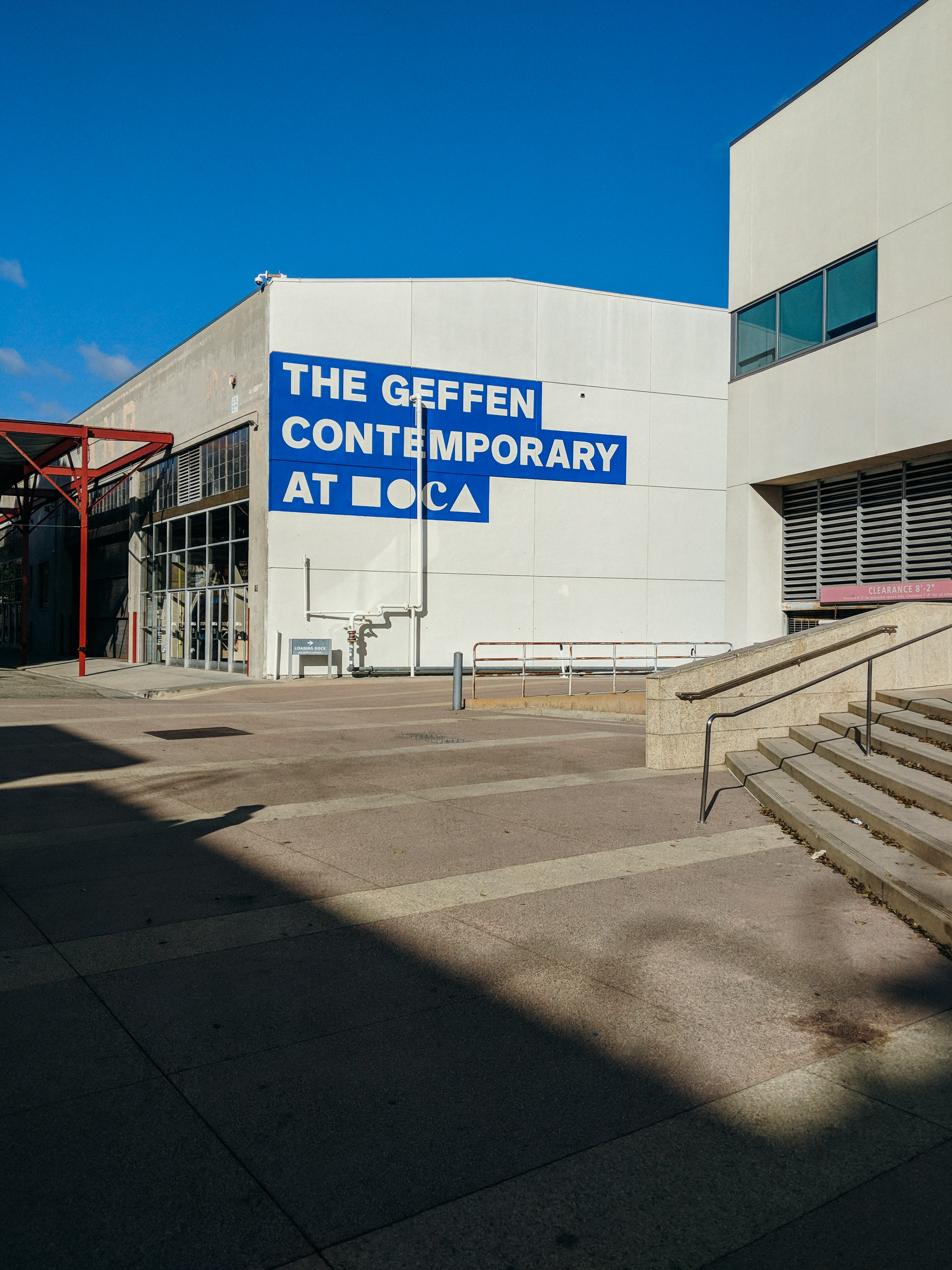 The Geffen Contemporary building under blue sky during daytime