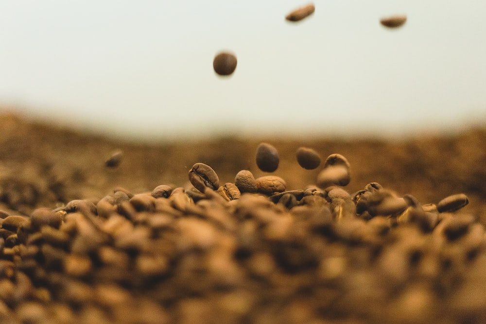 Bunch Of Coffee Beans Photo Free Brown Image On Unsplash
