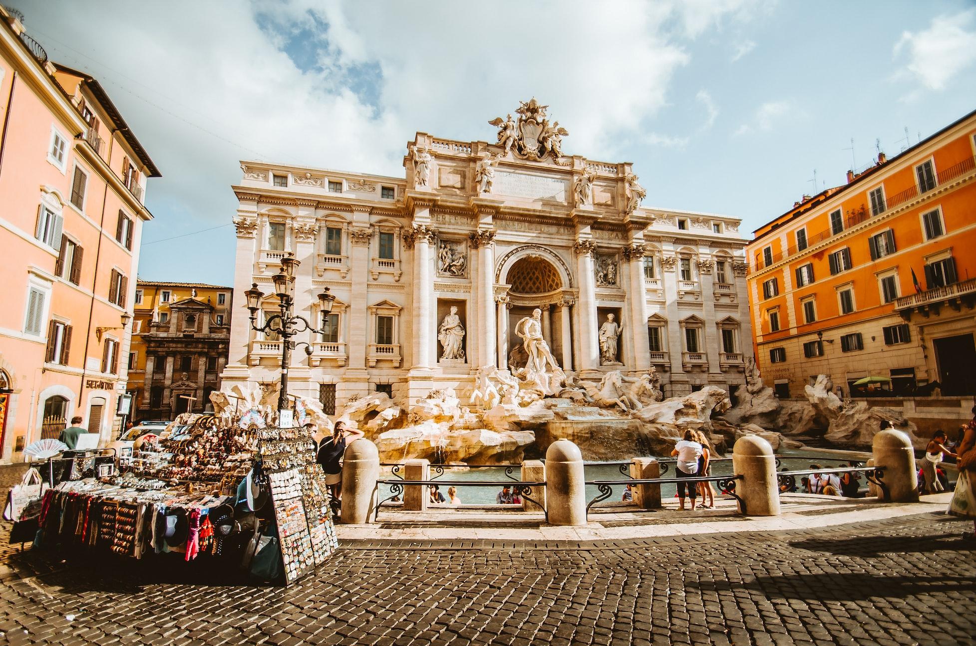 classifica siti UNESCO più belli nel mondo fontana di Trevi Roma
