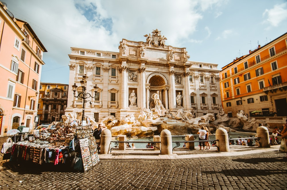 romantic cities in europe - rome