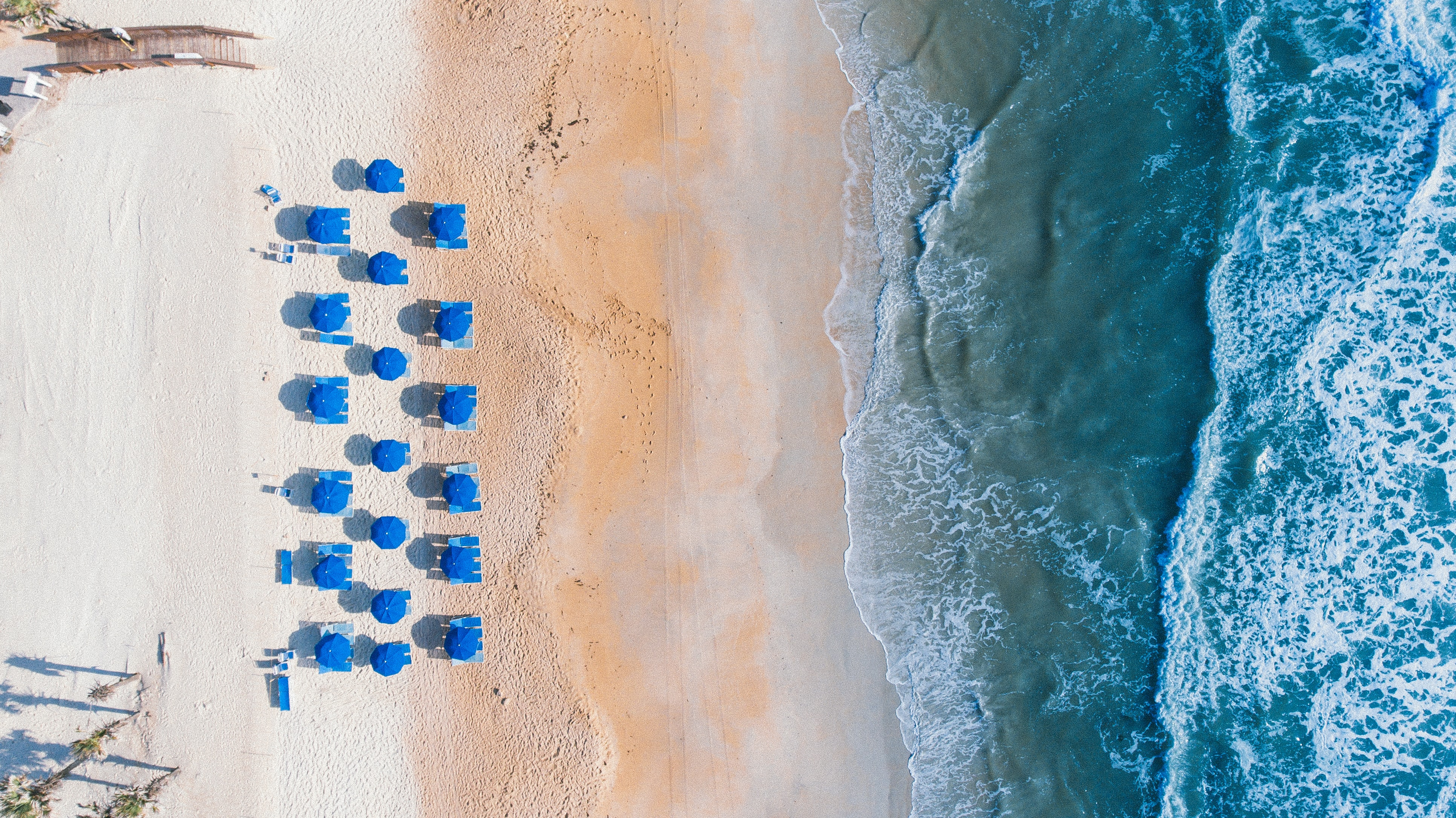 umbrellas on beach