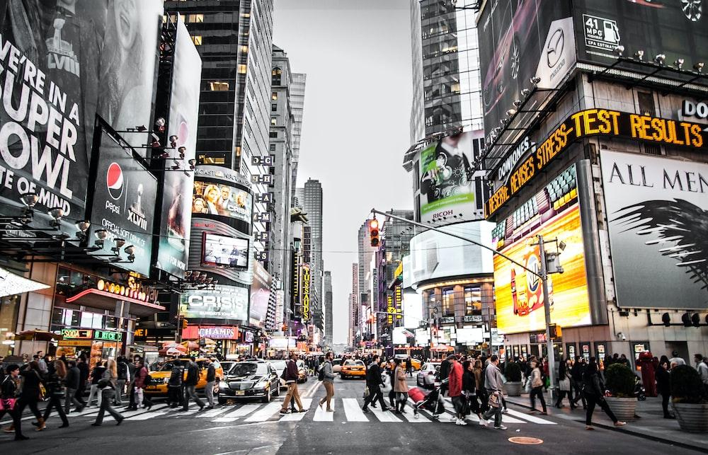 New York street during daytime