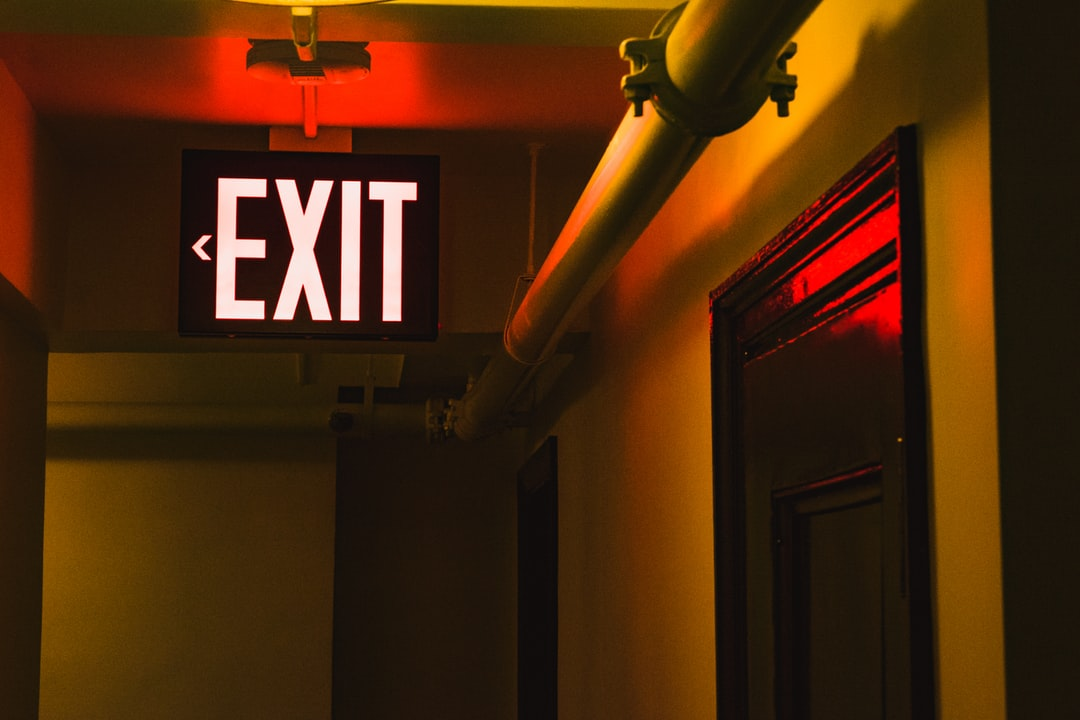 The Exit is this way
