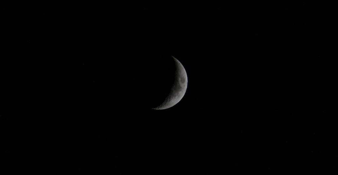 June Crescent Moon