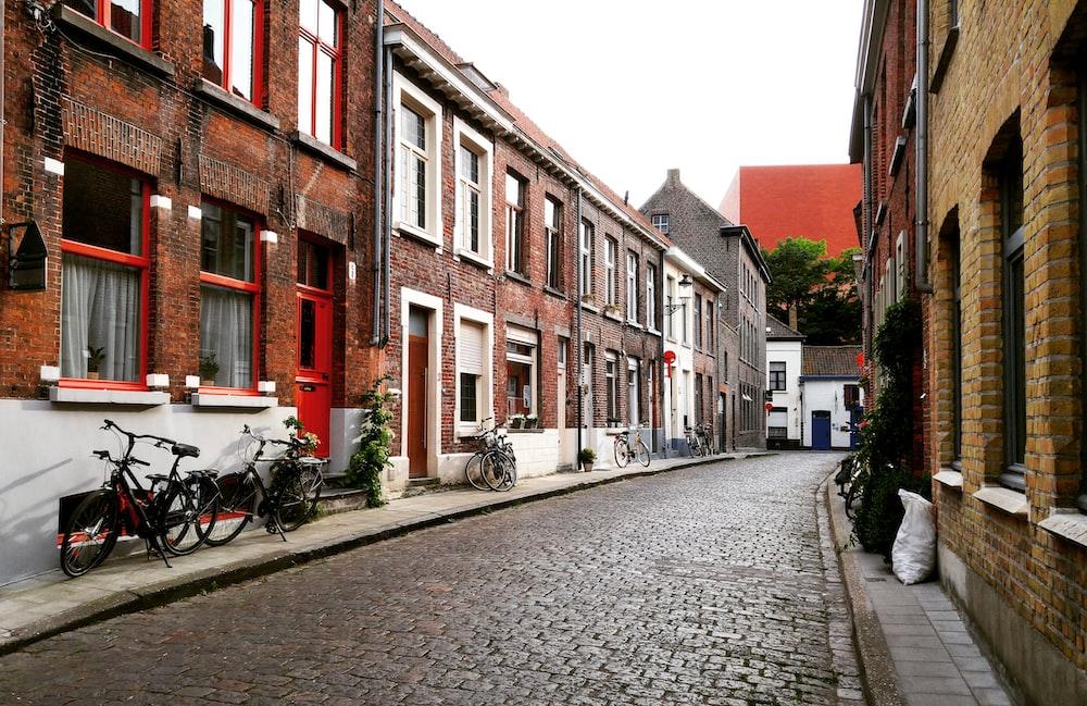 empty alley road