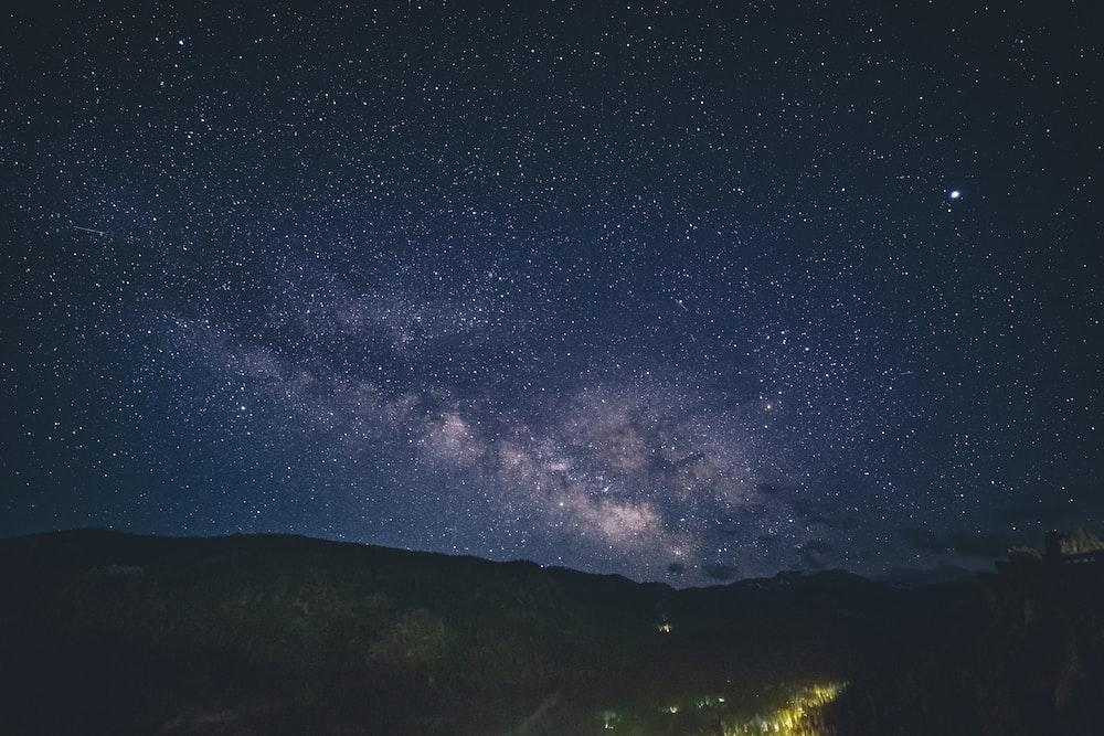 photo of heavenly bodies