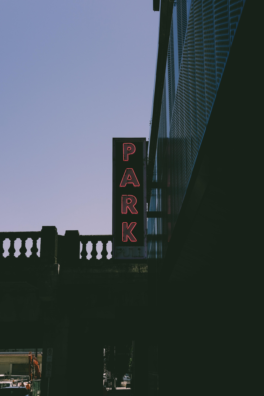pink Park LED signage