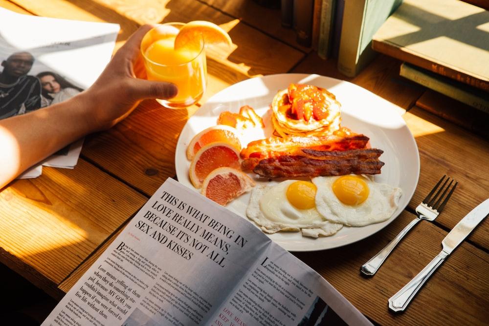 sunny-side up served on plate