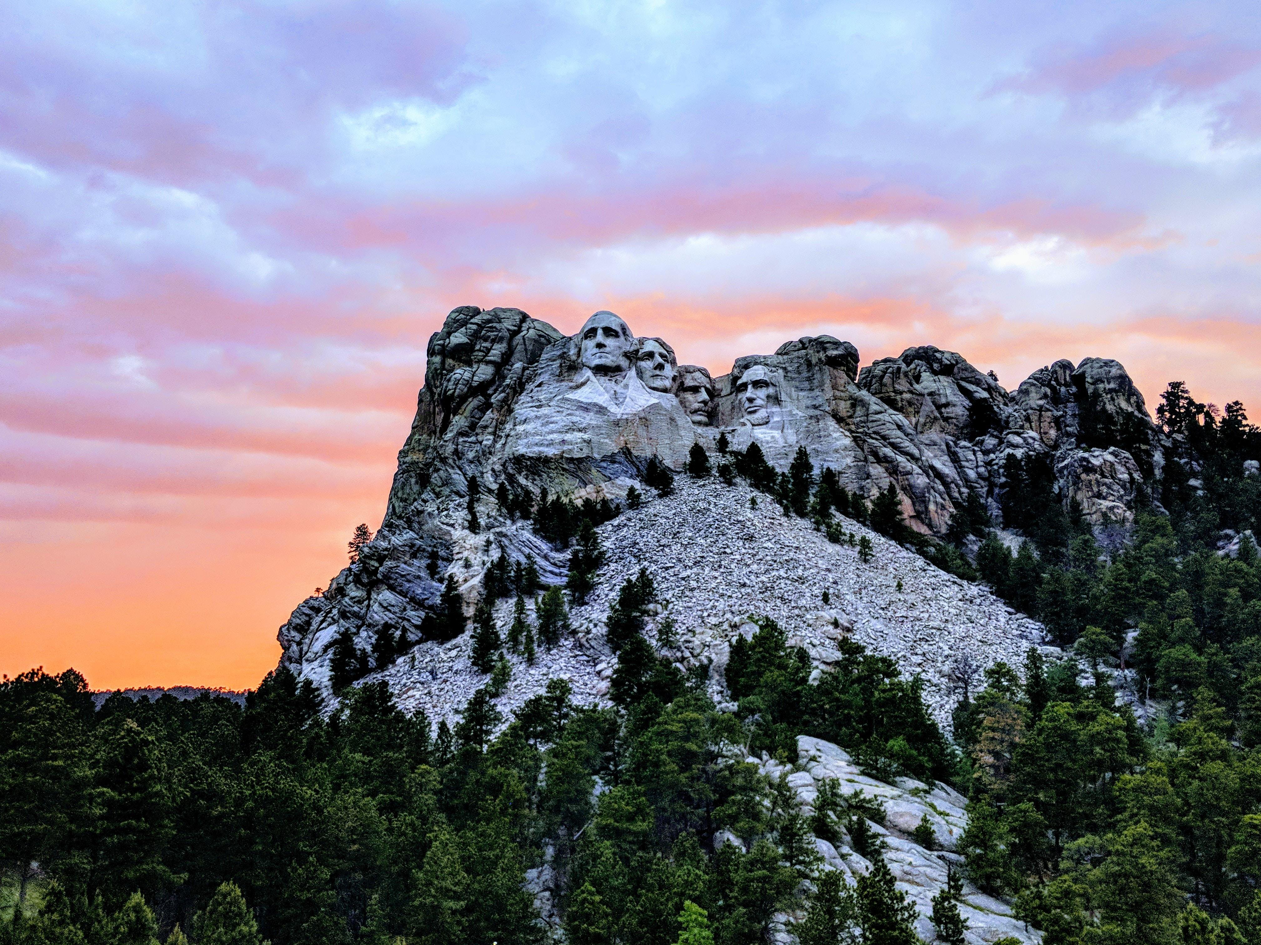 Mount Rushmore National Park, South Dakota, U.S.A during daytime