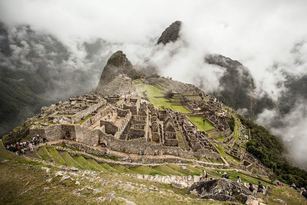 Machu Picchu, Mexico at daytime