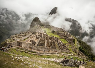 Machu Picchu, Mexico at daytime