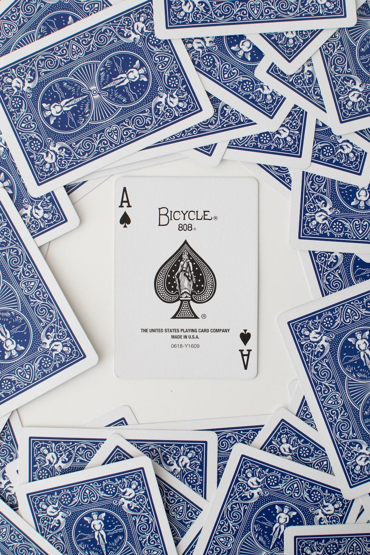 Aof spade playing card