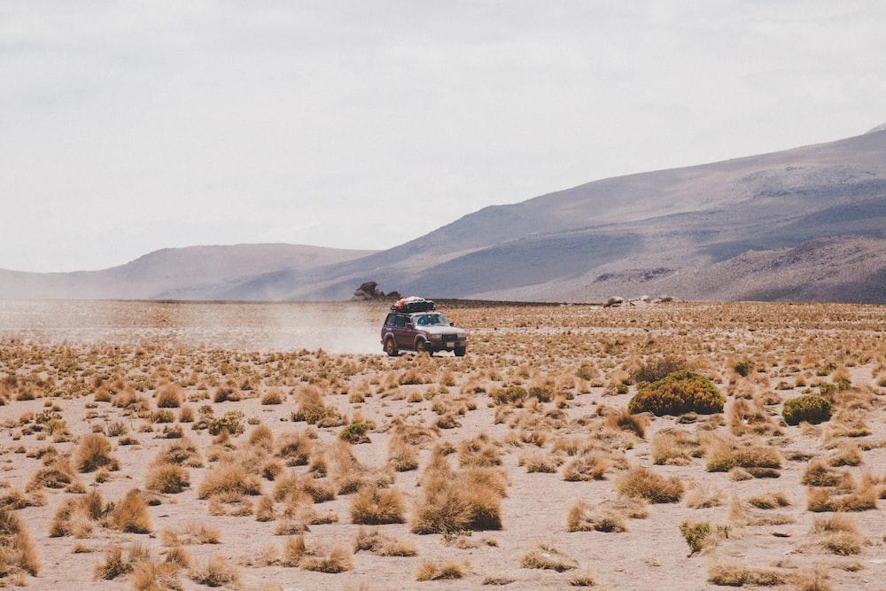vehicle moving forward on ground