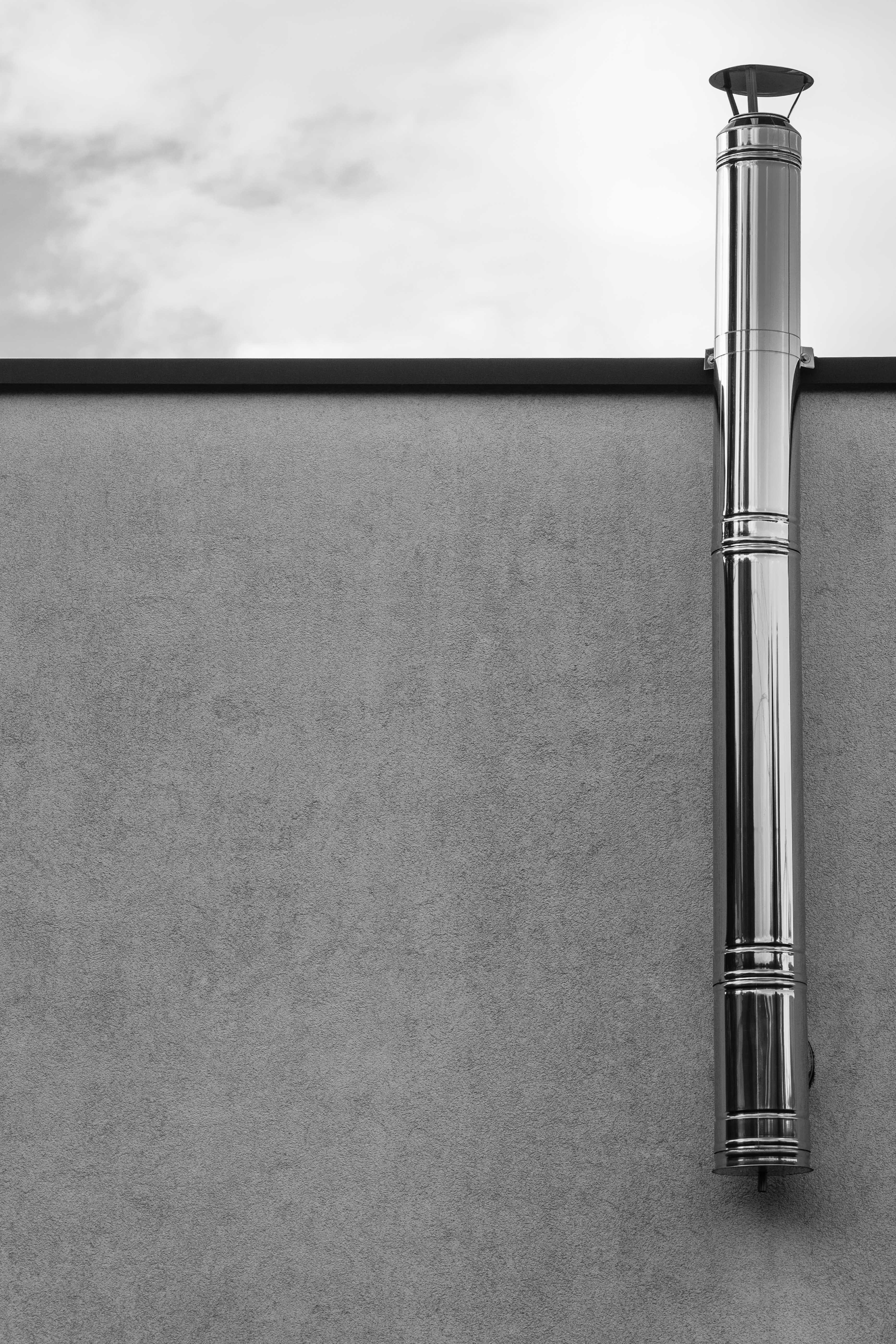 chimney heating tube