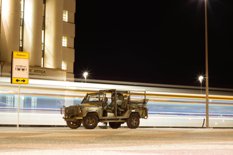 green military truck
