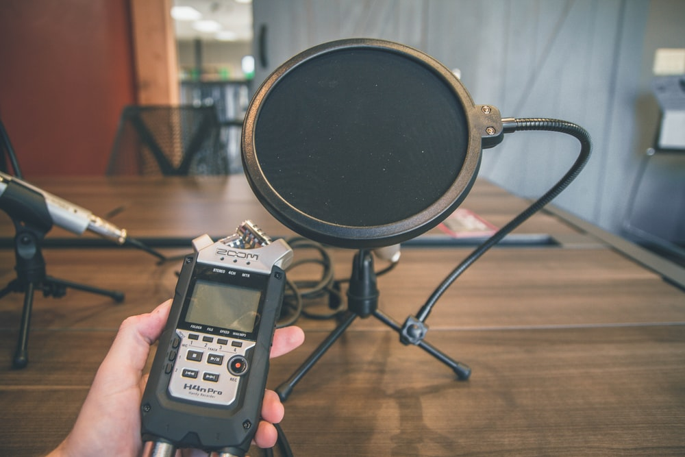 black digital recording device