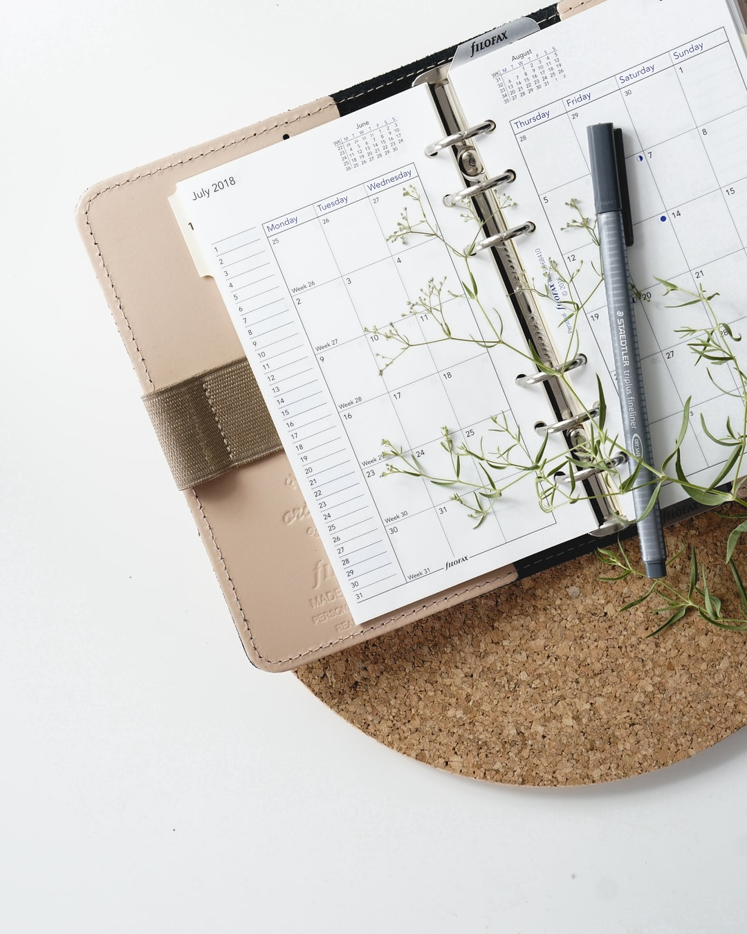 A photo of my Filofax Original Nude in personal size for my Instagram page. Planning, in order to be productive, is very important to me and I find that it would be important for most professionals to use a similar system in order to free up headspace, to be more calm and less busy.