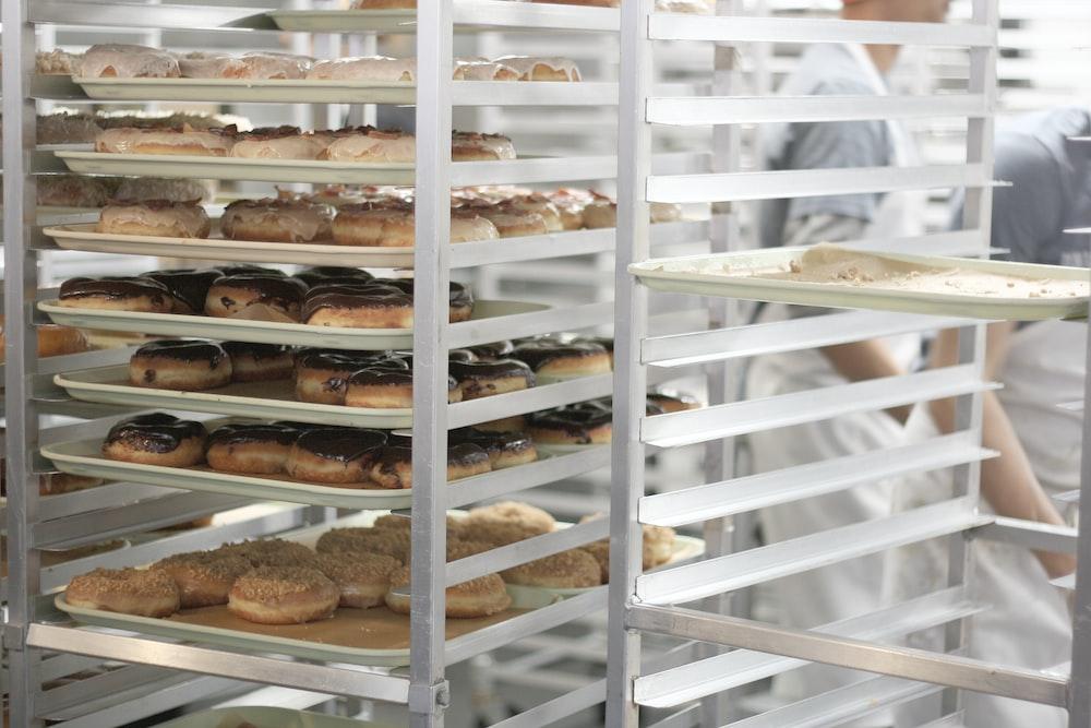 pastry on rack