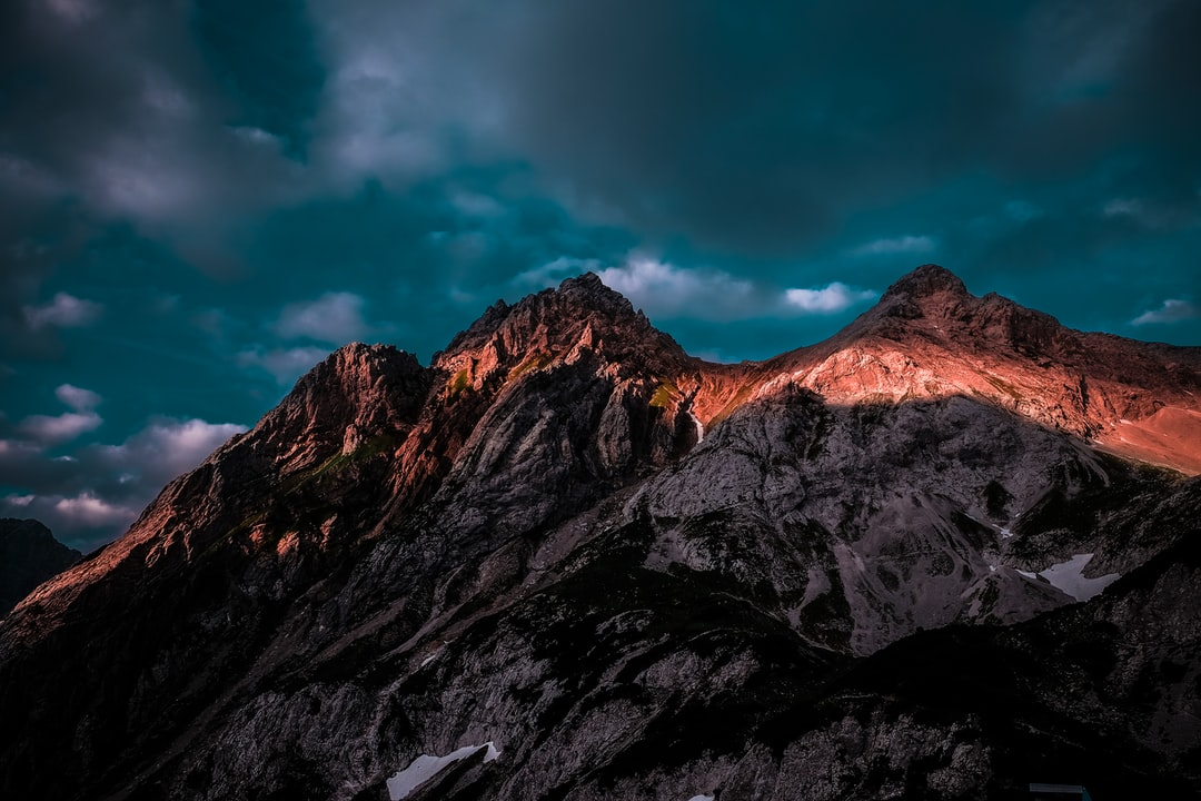 Mountains in the spot light