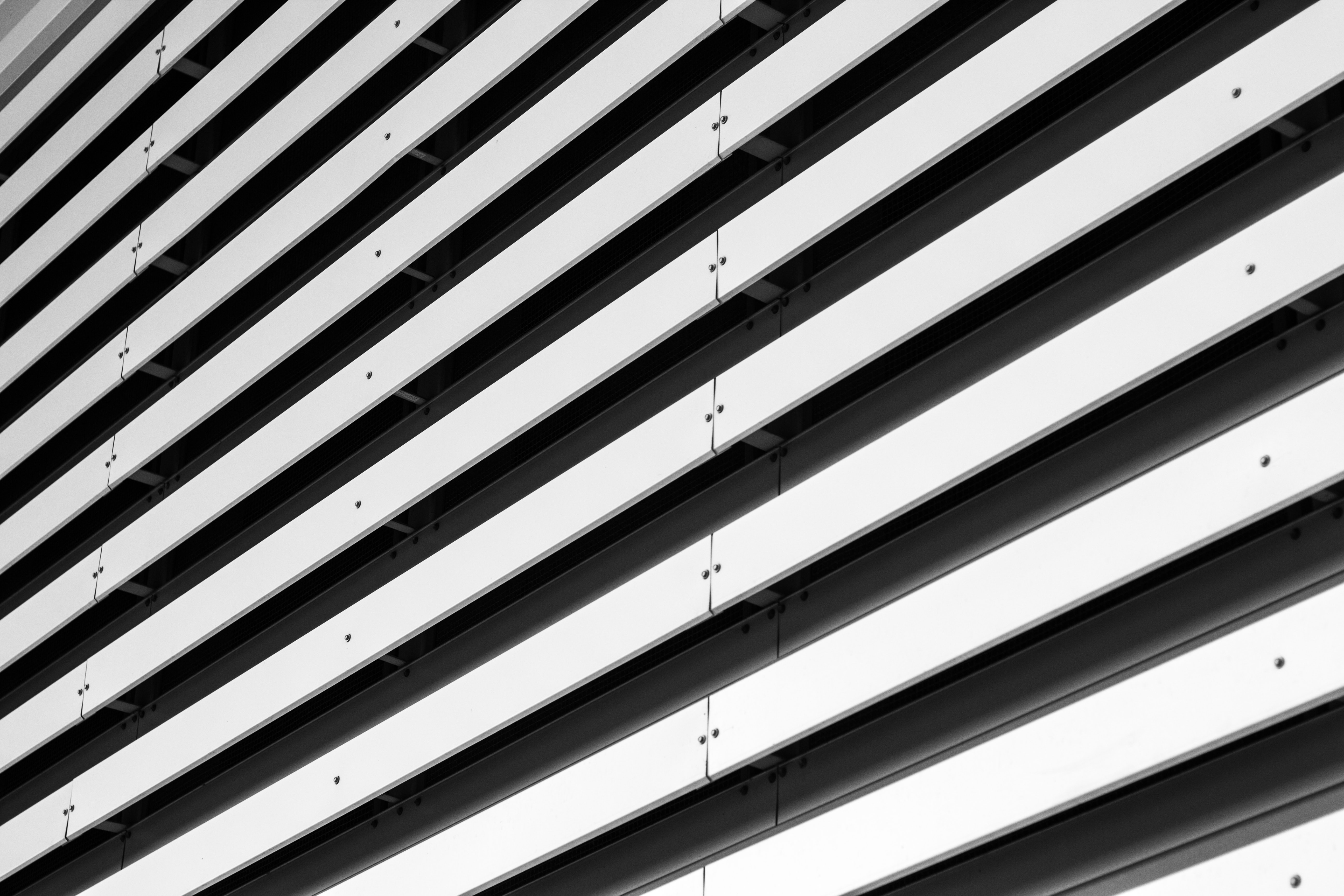 architecture photography of white concrete building