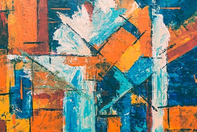 abstract painting expressionism zoom background