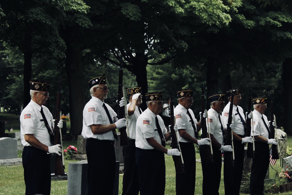 man in white uniform