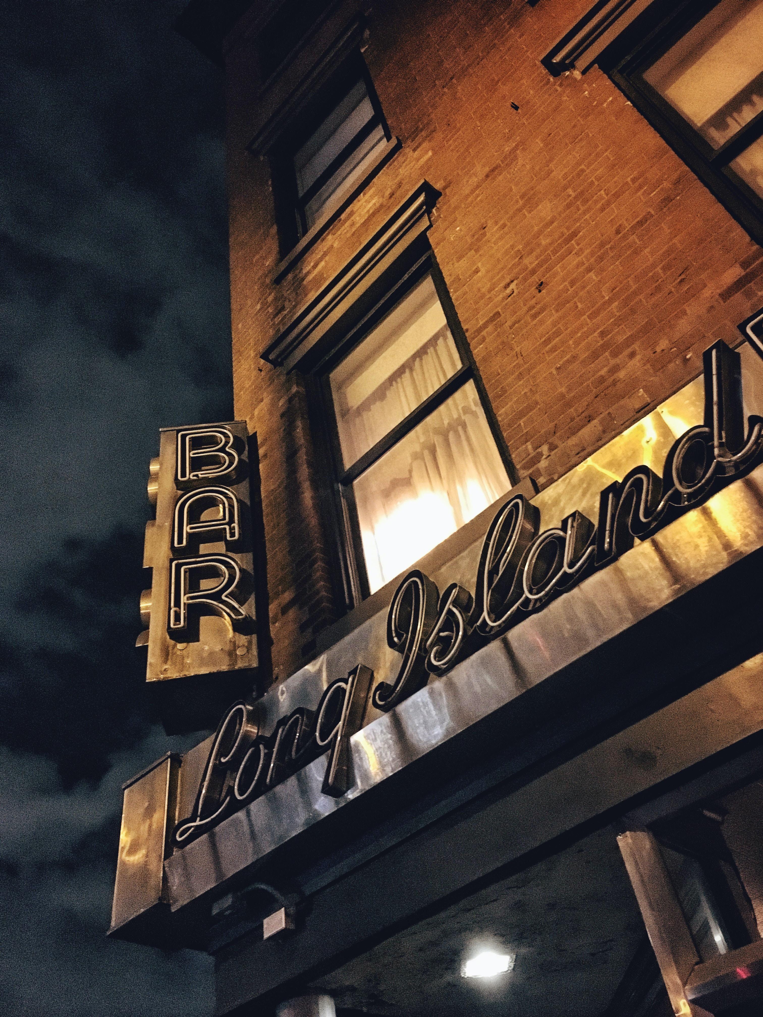Long Island bar facade