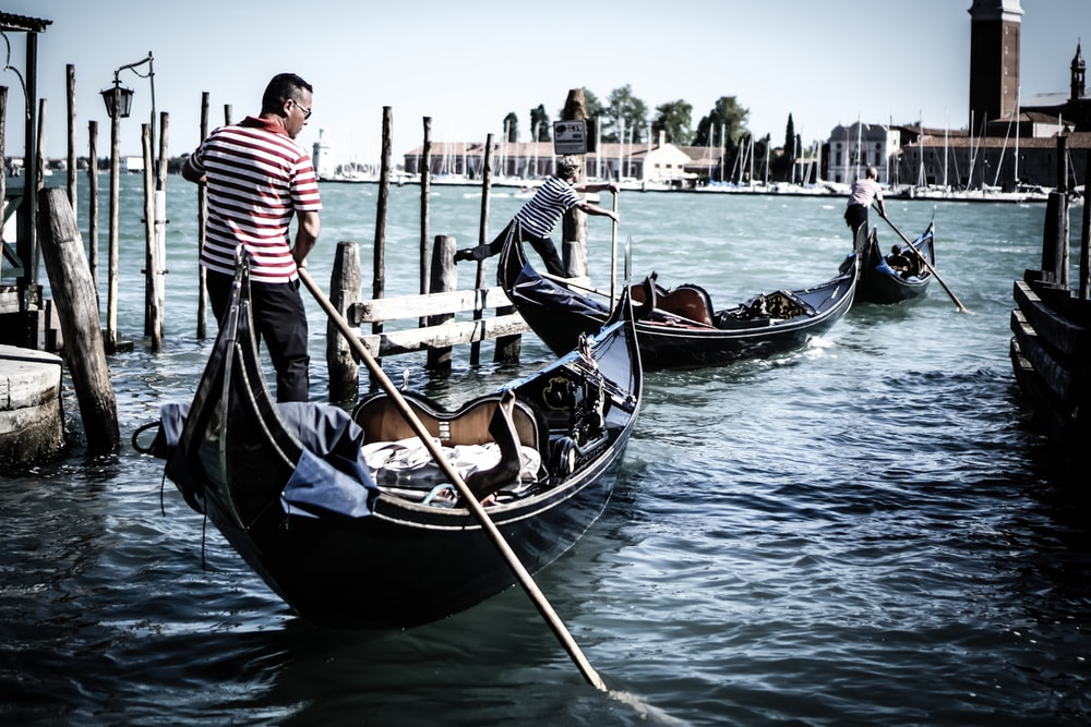 man ride on boat