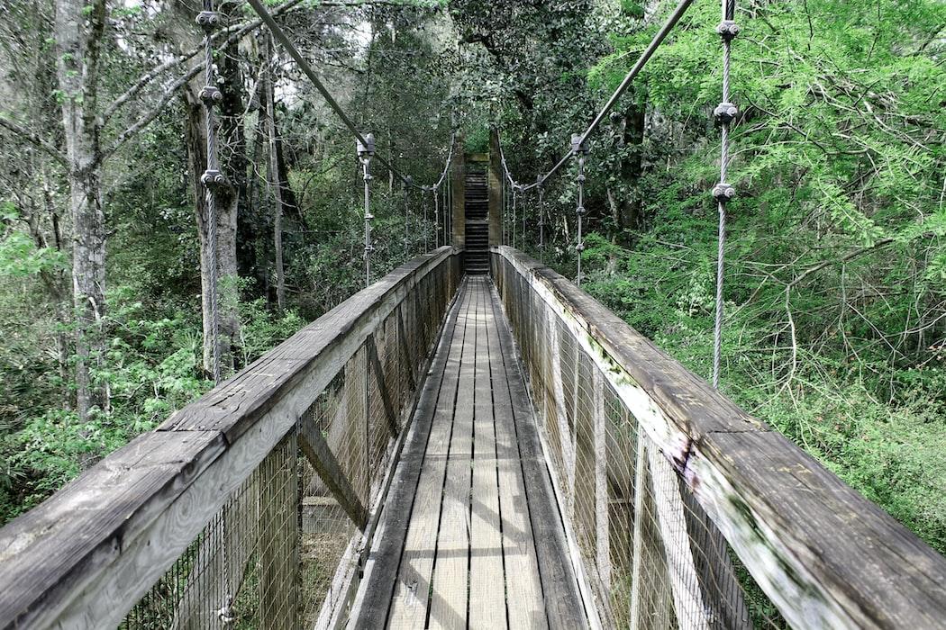 Tillman Ravine trail
