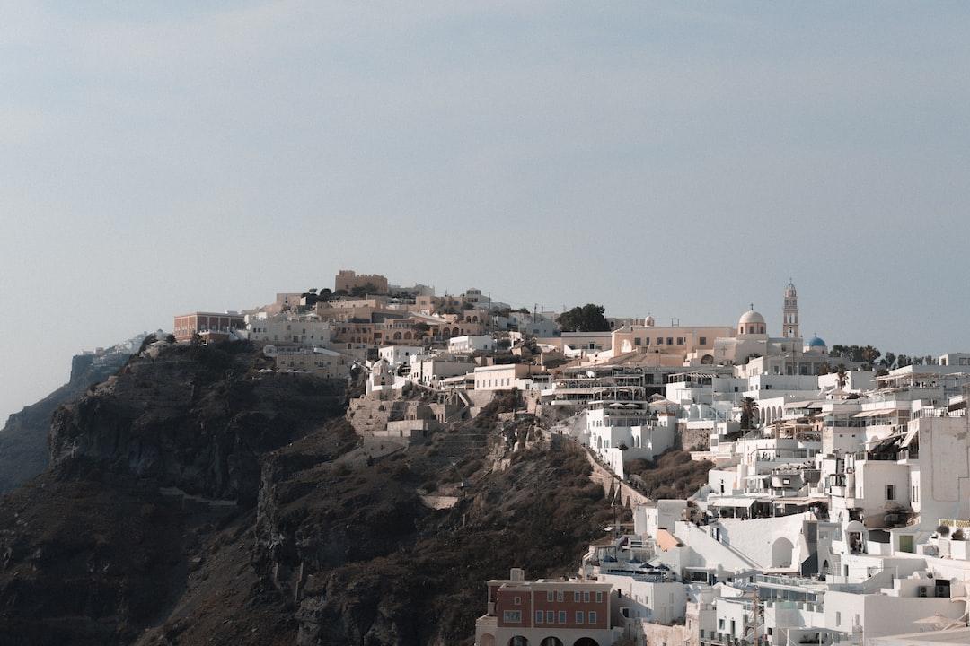 Santorini Bluffs