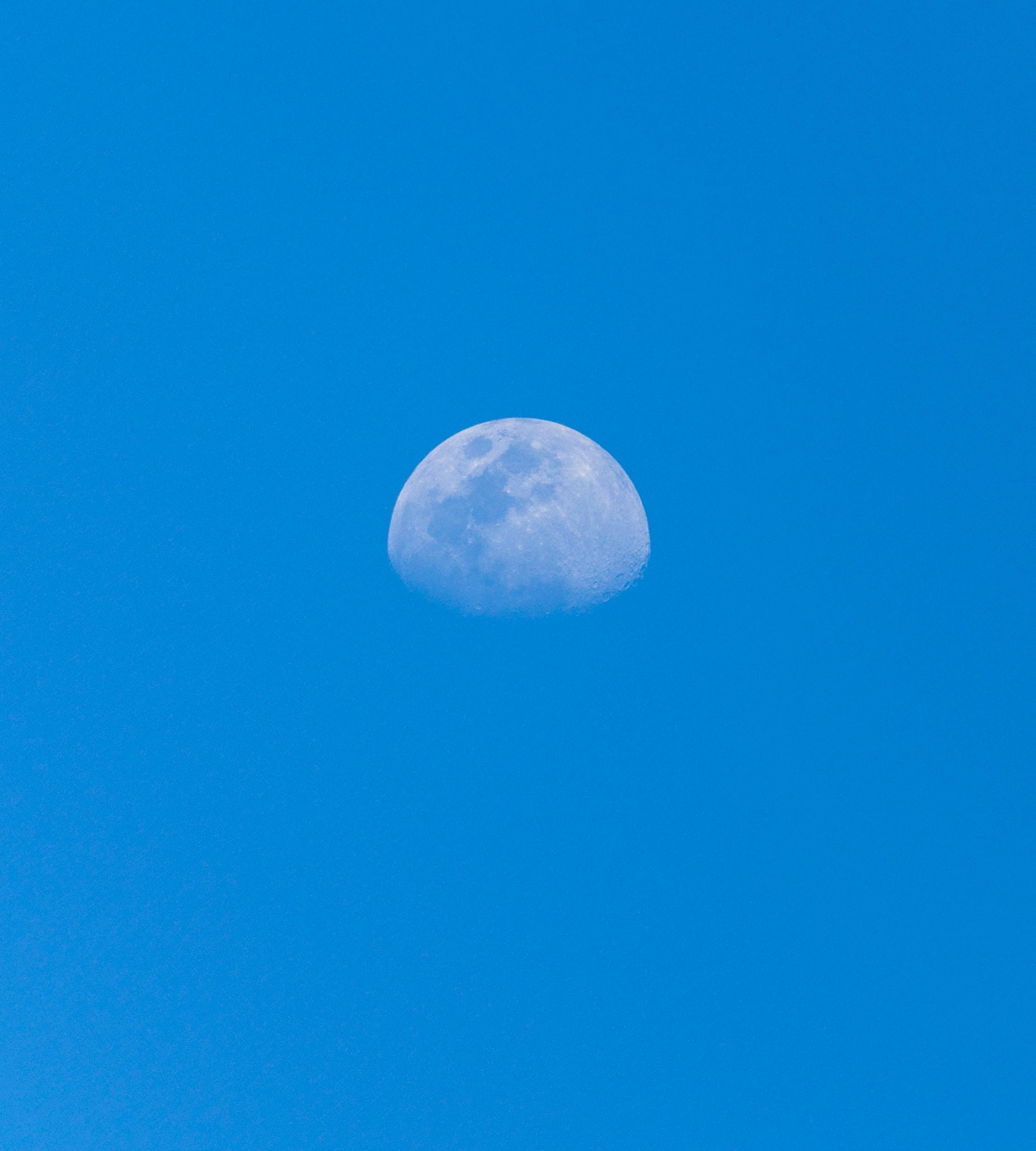 landscape photograph of moon