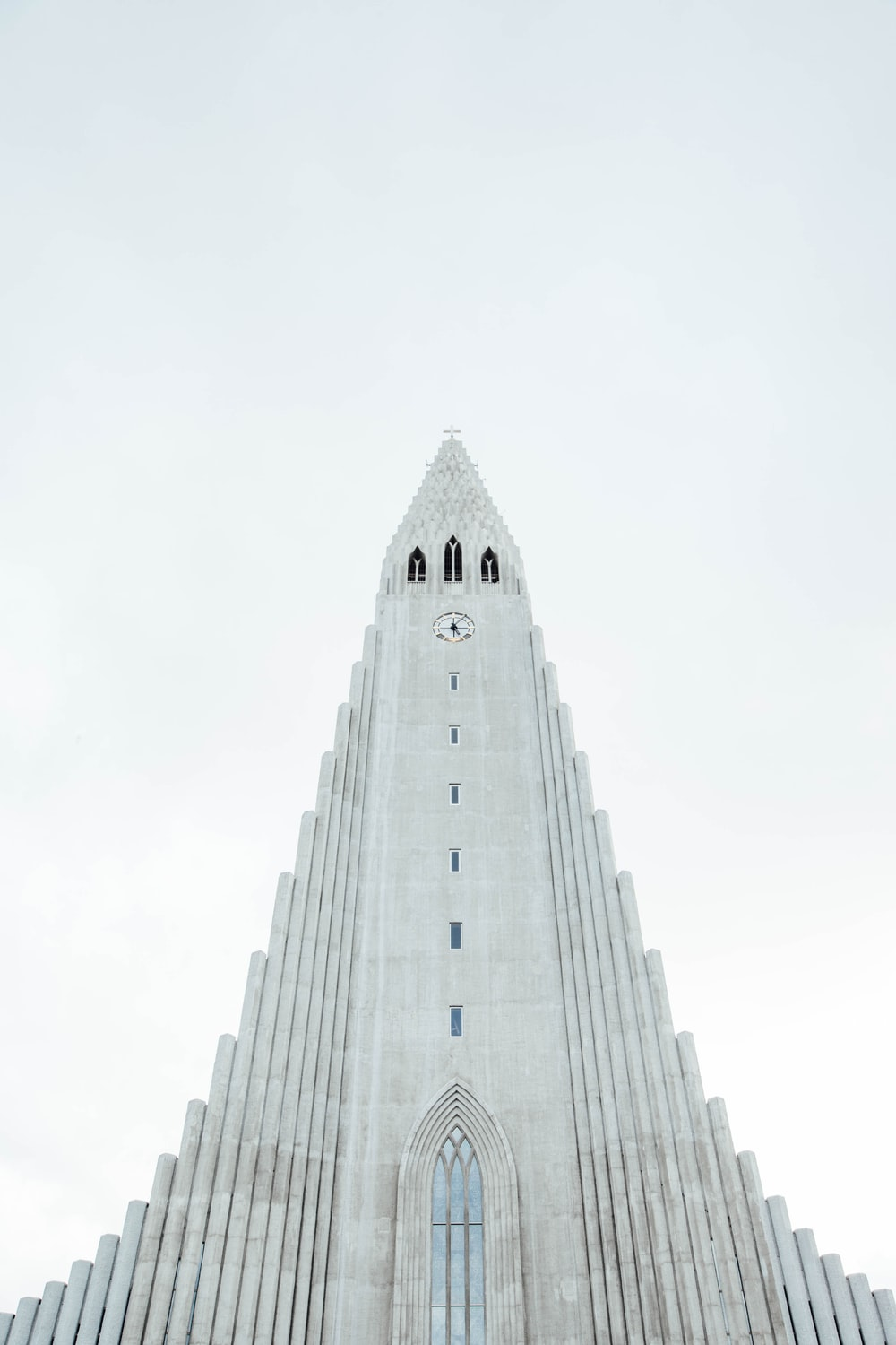 grey concrete cathedral