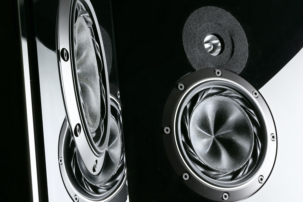 black subwoofer digital wallpaper